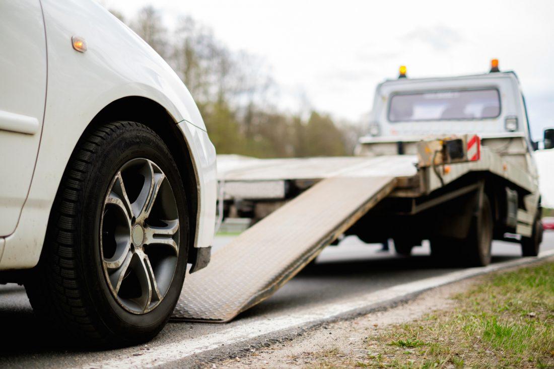 Servicio de grúas para autos en Estados Unidos