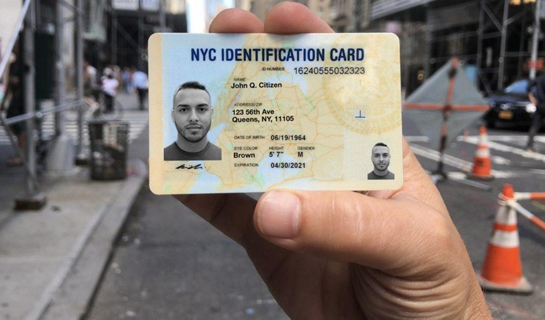 Obtener una ID de no conductor en NY o un IDNYC