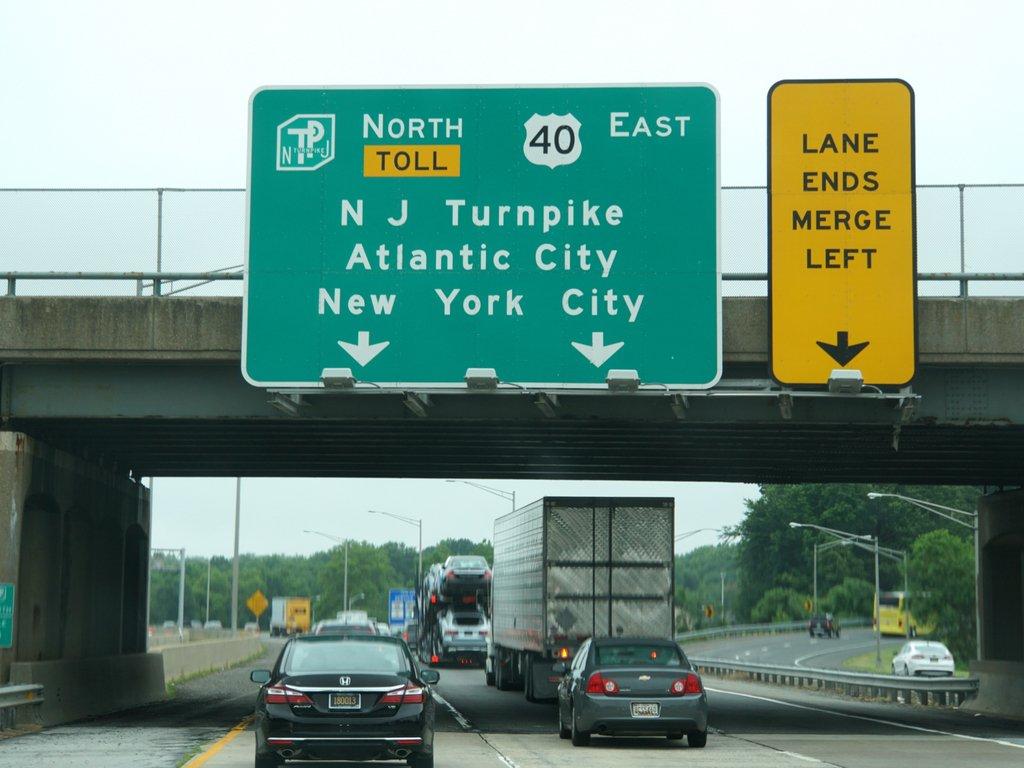 Leyes de tránsito en New Jersey