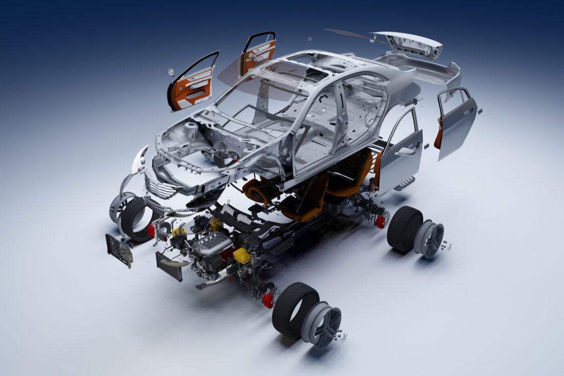 Partes de carros en inglés
