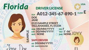 Renovar licencia de conducir Florida